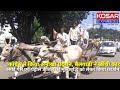 Video | Dewas - रसोई गैस और पेट्रोल डीजल के बढ़ते दामों को लेकर कांग्रेस ने किया अनोखा प्रदर्शन, बैलगाड़ी ने खींची कार | Kosar Express