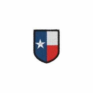 Texas Shield Embroidered Polo Shirt
