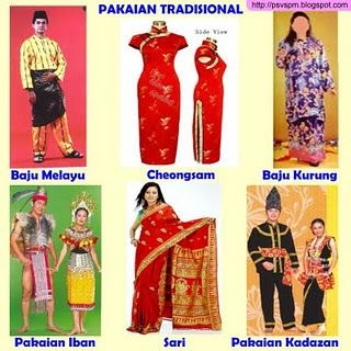 Melayu Pakaian Tradisional Malaysia Pakaian Adat