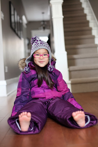 ♥ her snowsuit