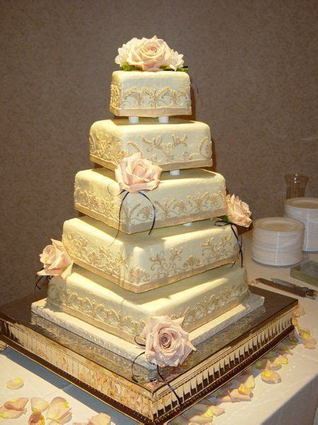 Yum!!! Cheesecake Wedding Cake   a few less layers for a