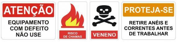 Avisos comuns nas cozinhas do mundo...