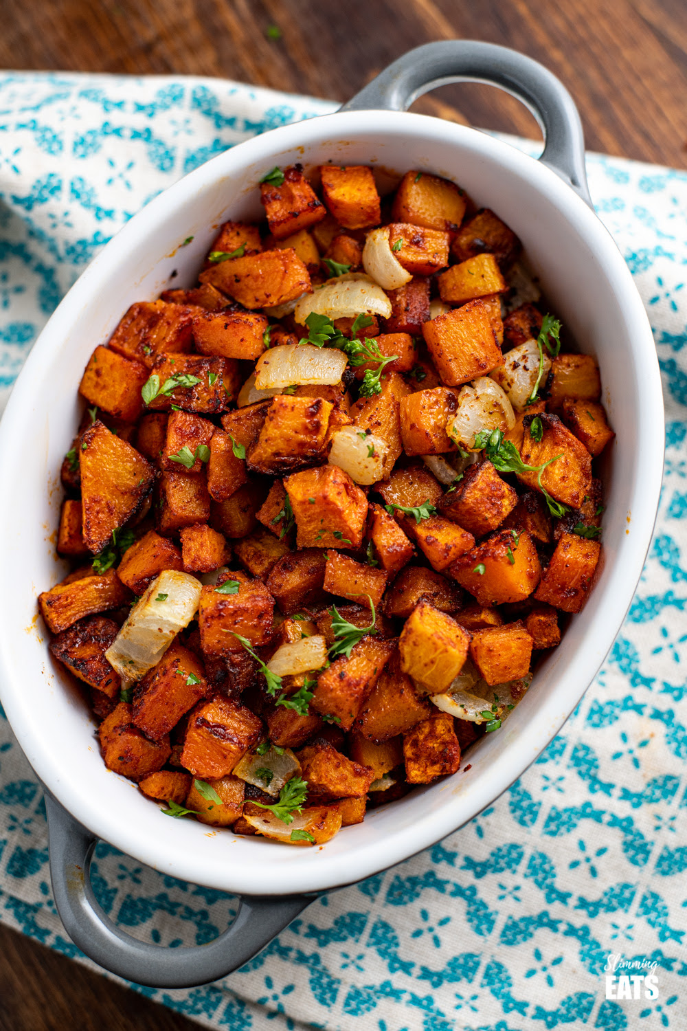 Roasted Butternut Squash with Paprika | Slimming Eats