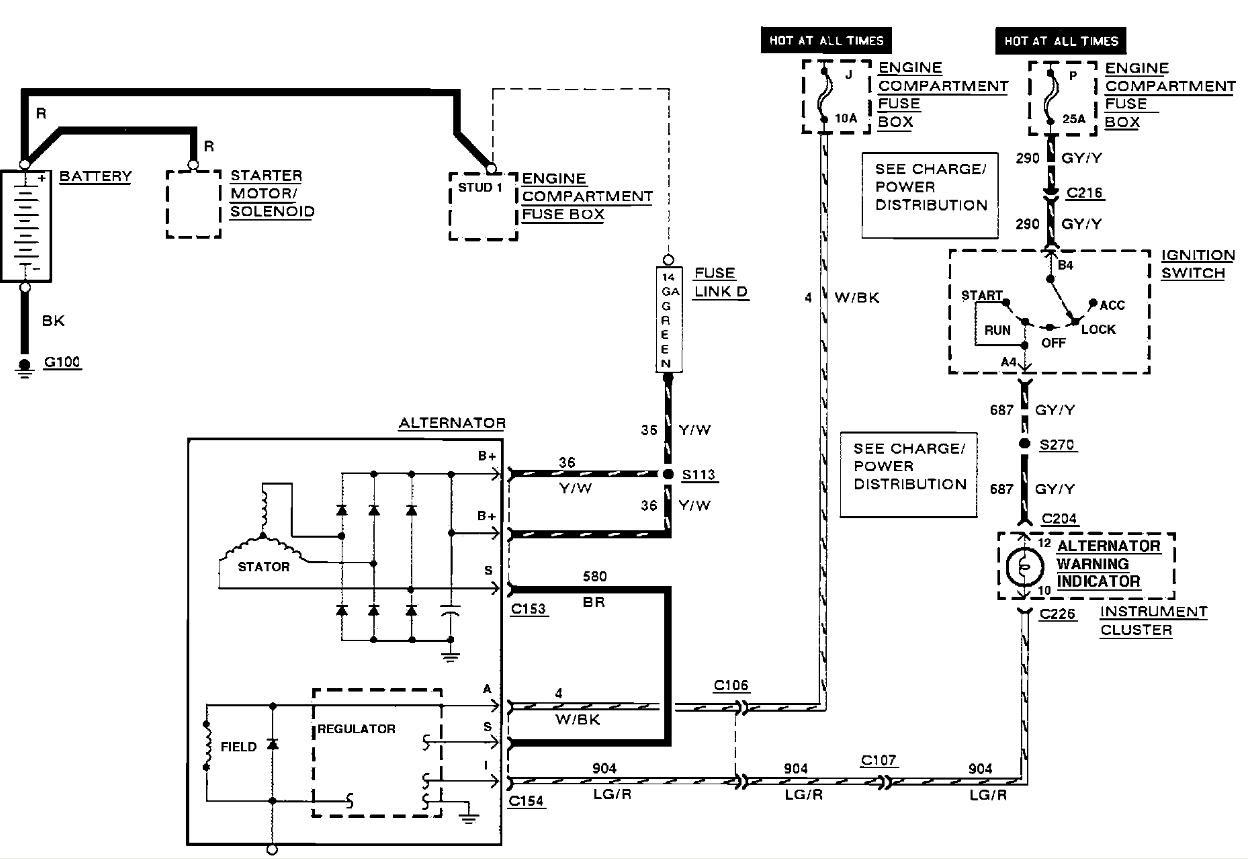 1990 Lincoln Town Car Alternator Wiring Diagram Wiring Diagram Octavia A Octavia A Musikami It