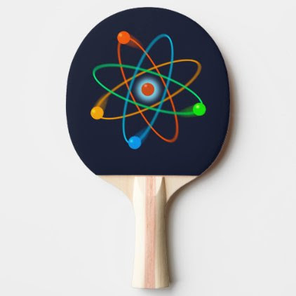 Atomic Structure Ping-Pong Paddle