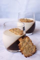 Panna cotta ja florentiinid / Panna cotta and florentine cookies