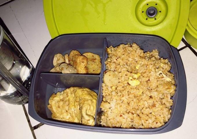 Cara Praktis Membuat Nasi goreng utk bekal suami Anti Gagal