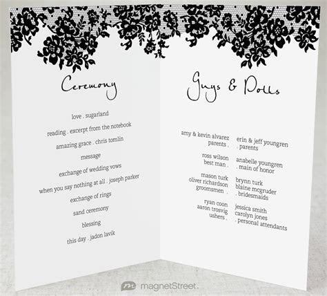 2 Modern Wedding Program and Templates