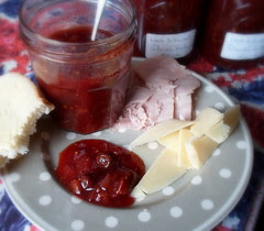 Nigel's Hot and Sweet Plum Chutney
