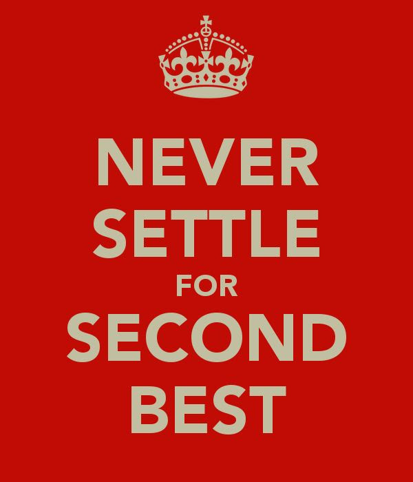 Quotes About Second Best 146 Quotes