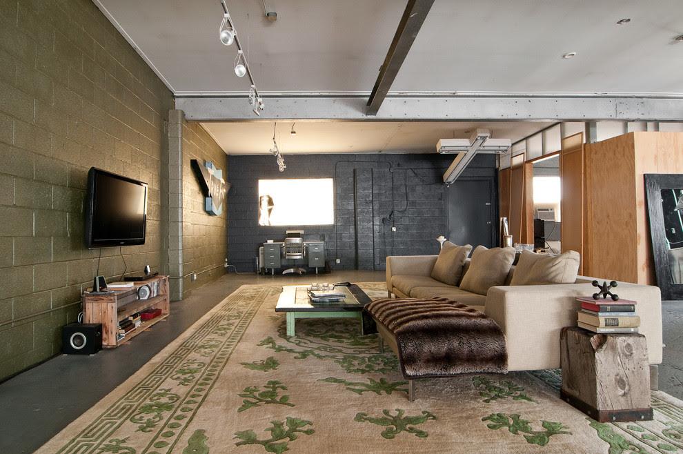 18 Industrial Basement Design Home Decor