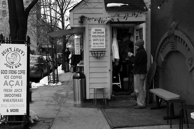 Juicy Lucy's, East Village