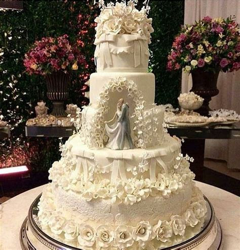 631 best Cake   5 Tier Wedding Cakes images on Pinterest