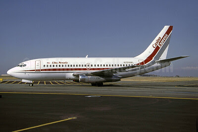 Casino Express Airlines Boeing 737-2H4 N709ML (msn 20336) SLC (Thomas Livesey). Image: 911770.