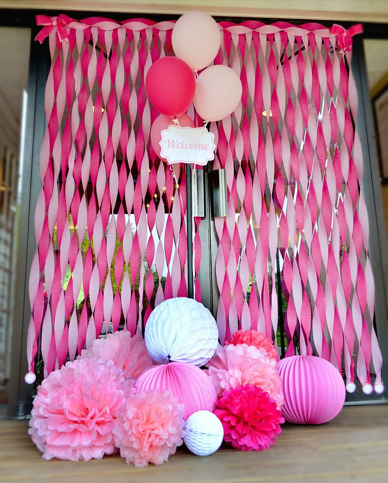 Charming Sweet Tickled Pink Baby Shower Hostess With The Mostess