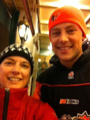 Cory and I!