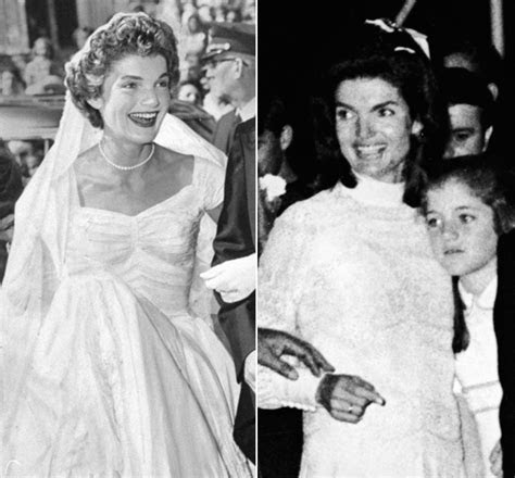 Jackie Kennedy's Wedding Dresses Still Make Us Swoon (Both