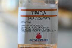 thai tea syrup