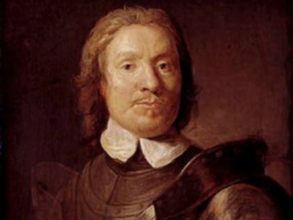 Oliver Cromwell, lord protector al Angliei
