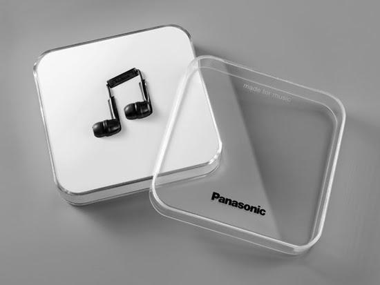 Auriculares Panasonic En Forma De Nota Musical Bienvenidos Al Blog