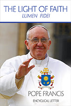 Pope Francis Cover Image of the Encyclical Lumen Fidei - The Light of Faith