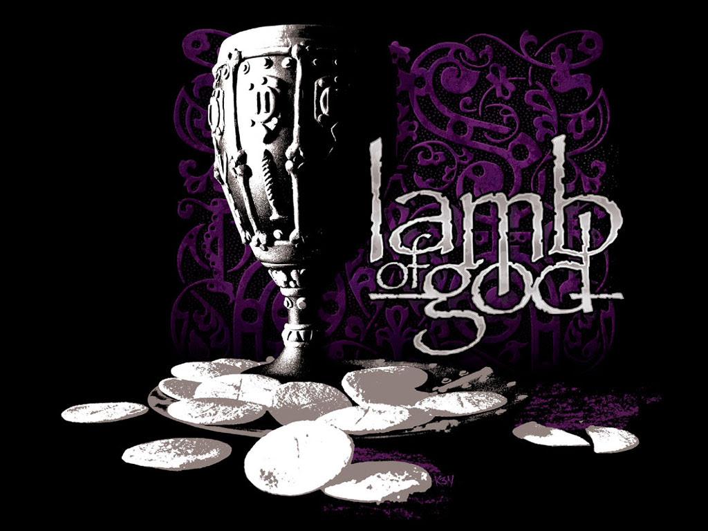 Lamb Of God Sacrament Album American Metal Band Hd Black Wallpapers