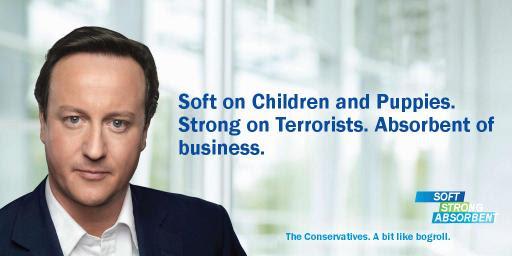 The Conservatives: rather like bog roll