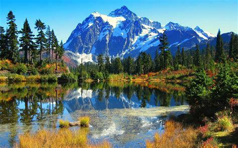 beautiful lake scenery wallpaper  beautiful
