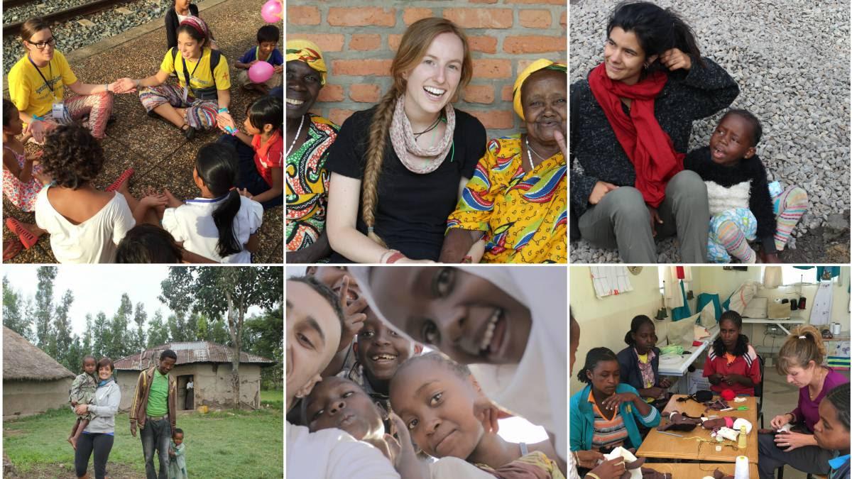 Voluntarios españoles por el mundo