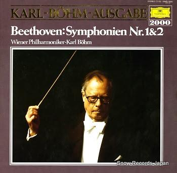 BOHM, KARL beethoven; symphonien nr.1 c-dur op.21
