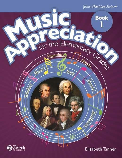 Music Appreciation for the Elementary Grades {Zeezok Publishing LLC Review}