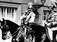 Kaiser Wilhelm II and George V at Potsdam, 1913