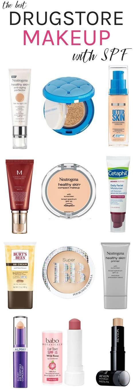 Double Duty Beauty! Best Drugstore Makeup With SPF