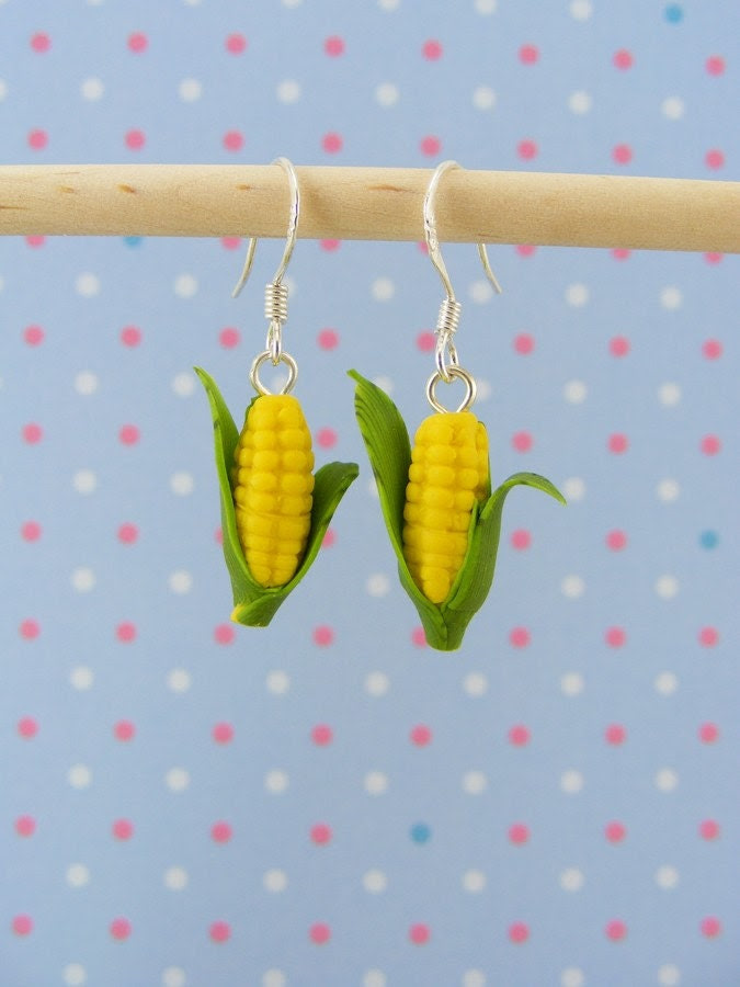 Corn Earrings