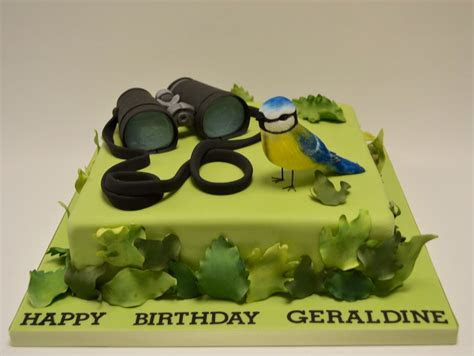 Bird Watching Cake   Adult Birthday Cakes   Celebration