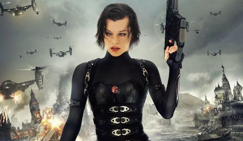 """Último filme da franquia """"Resident Evil"""" ganha pôster, teaser e data de lançamento do trailer oficial!"""