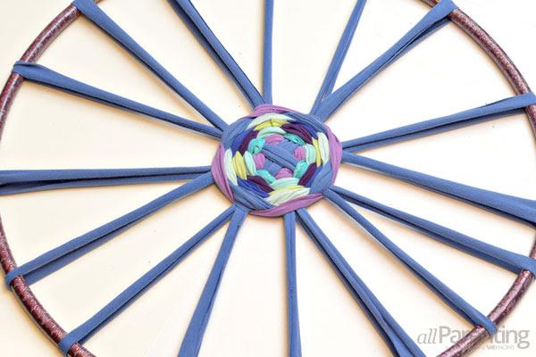 Hula Hoop χαλί βήμα 8