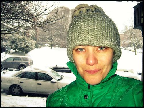 snow makes me sassy