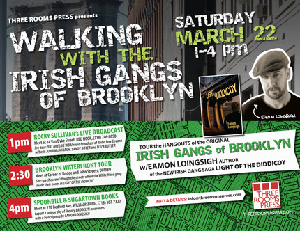 March 22: Explore the Irish Gangs of Brooklyn with Eamon Loingsigh