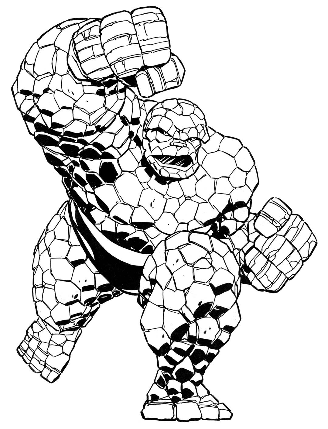 Coloring book - Marvel Super heroes