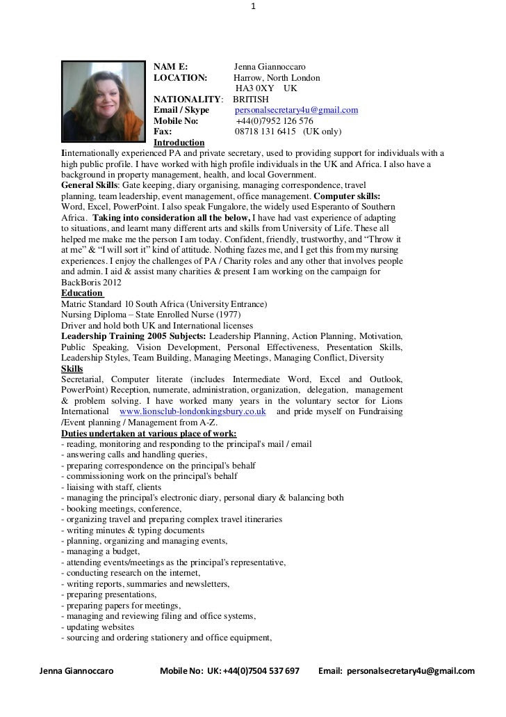 full cv with introduction april 2011 1 728