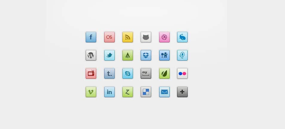 Super Social Icons