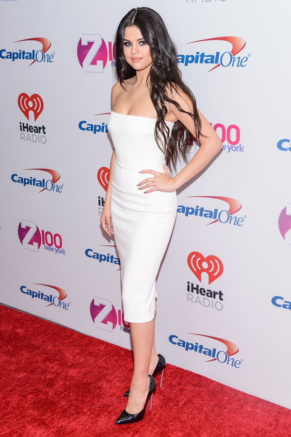 Selena Gomez attends the Jingle Ball 2015 in NYC