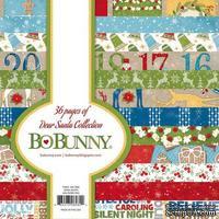 Набор двусторонней бумаги BoBunny - Dear Santa - Paper Pad, размер 15х15 см, 36 листов - ScrapUA.com