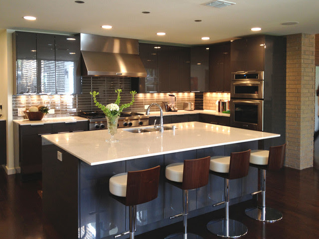 Modern kitchen Contemporary Kitchen Dallas by