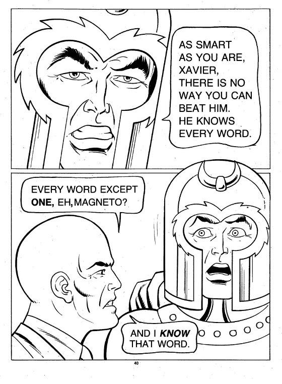 X-Men Super Activity Book00041