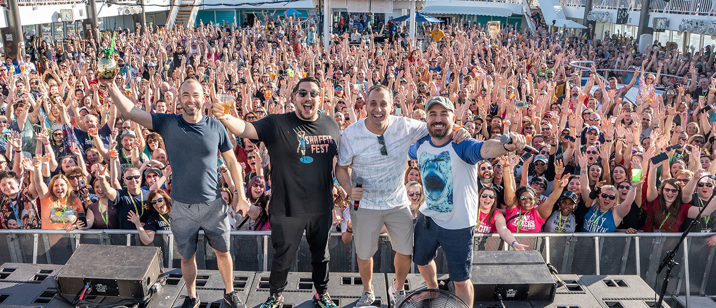 Impractical Jokers Cruise 2020.Beside The Point Podcast Impractical Jokers Cruise