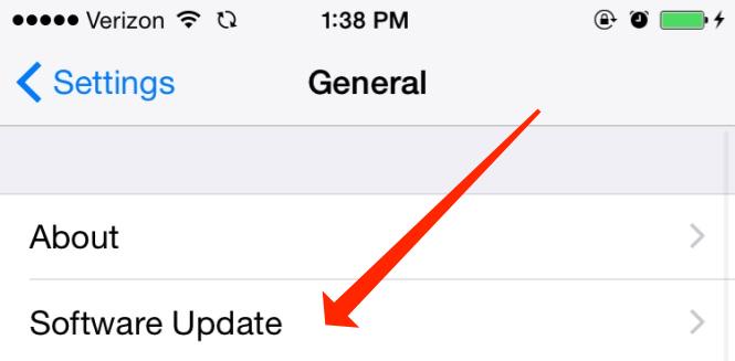 iOS General