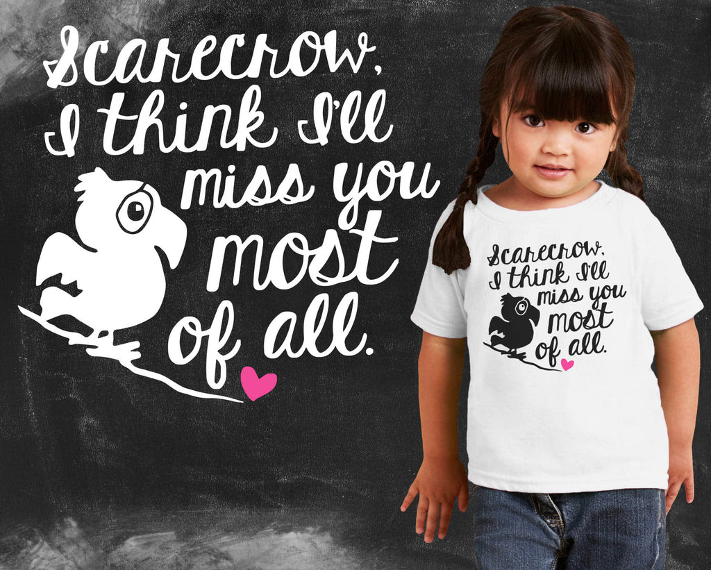 Miss You Wizard Of Oz Kids Graphic T Shirt Oregon Tee Company