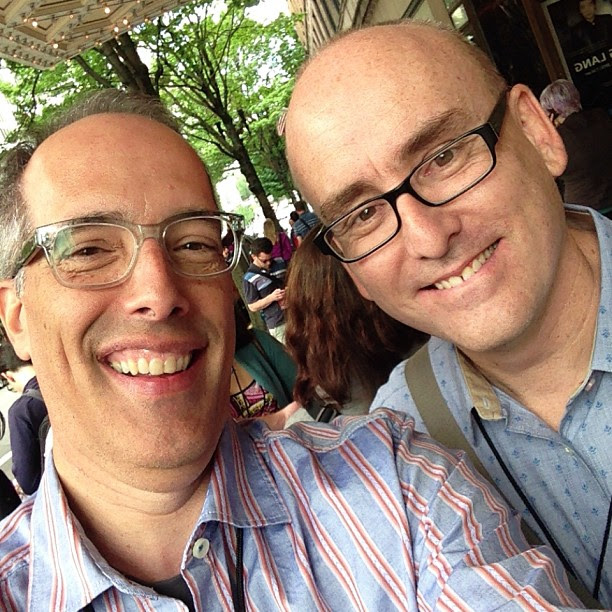With @ProBlogger at #wds2013